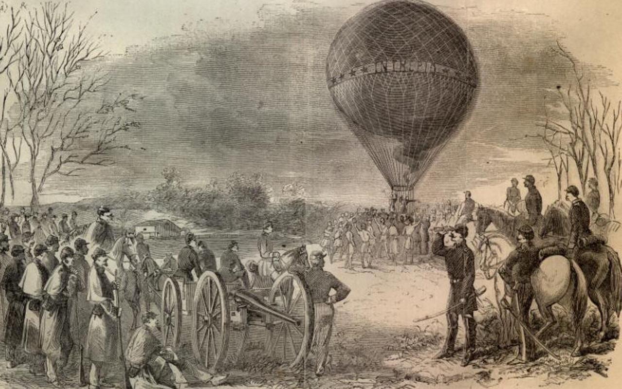 Hot air balloon renaissance