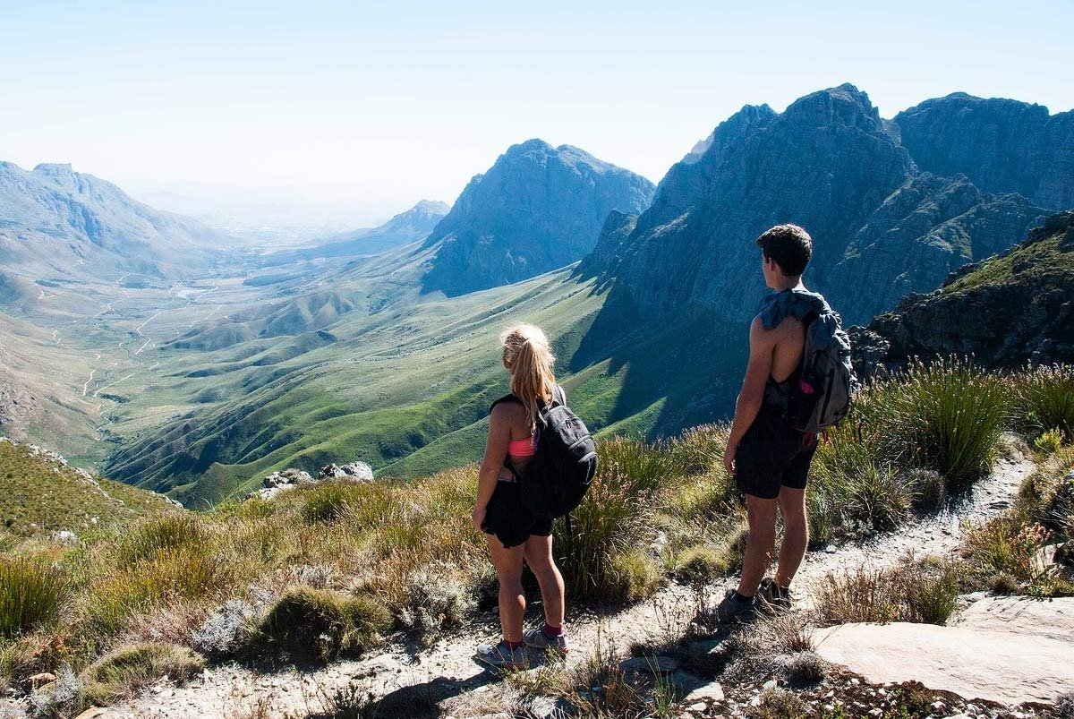 Panorama Route - Towards Stellenbosch - Jonkershoek Hike South Africa